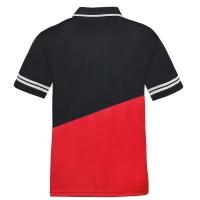 Поло Donic Polo Shirt M Primeflex Black/Red