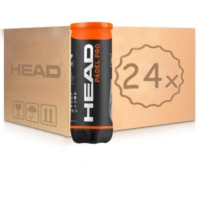 Мячи для тенниса Head Padel Pro 3b Box x72 575613