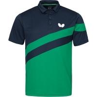 Поло Butterfly Polo Shirt M Kisa Dark Blue/Green