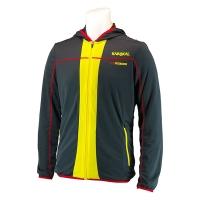 Ветровка Karakal Jacket U Pro Tour KC5404 Dark Gray/Yellow