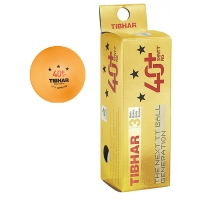 Мячи Tibhar 3* SYNTT NG 40+ Plastic x3 Orange