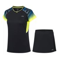 Комплект Li-Ning Kit W T-shirt+Skirt AATP024-1 Black