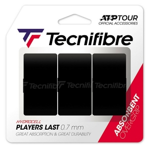 Овергрип Tecnifibre Overgrip Last Players x3 Black 52ATPLASBK