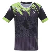 Футболка Kumpoo T-shirt M KW-0112 Black/Green