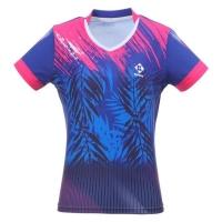 Футболка Kumpoo T-shirt W KW-0212 Blue/Red