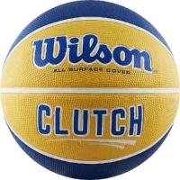 Мяч для баскетбола Wilson Clutch Blue/Yellow WTB14199XB07