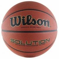 Мяч для баскетбола Wilson Solution VTB24 Brown WTP000265