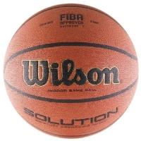 Мяч для баскетбола Wilson Solution Brown B0616X