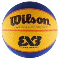 Мяч для баскетбола Wilson FIBA3x3 Replica Blue/Yellow WTB1033XB
