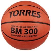 Мяч для баскетбола TORRES BM300 Orange B0001