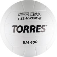 Мяч для волейбола TORRES BM400 White V30015
