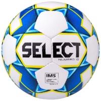 Мяч для футбола SELECT Numero 10 Cyan/Yellow 810519-020