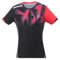 Футболка Kumpoo T-shirt W KW-0210 Black/Red