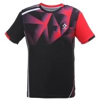 Футболка Kumpoo T-shirt M KW-0110 Black/Red