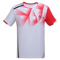 Футболка Kumpoo T-shirt M KW-0110 White/Red