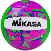 Мяч для пляжного волейбола Mikasa GGVB-SF Purple/Green
