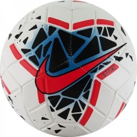 Мяч для футбола Nike Strike Black/Red SC3639-106