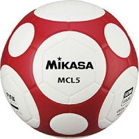 Мяч для футбола Mikasa MCL5-WR White/Red