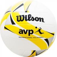 Мяч для пляжного волейбола Wilson AVP II Recreational White/Yellow WTH30119XB