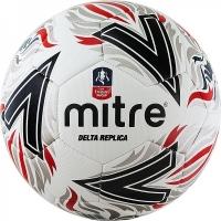 Мяч для футбола MITRE Delta Replica White/Black AA0017WD6