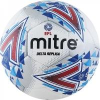 Мяч для футбола MITRE Delta Replica White/Blue BB1981WHL