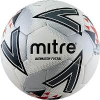 Мяч для минифутбола MITRE Futsal Ultimatch IMS HyperSeam White/Gray A0027WG7