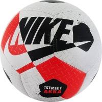 Мяч для минифутбола Nike Street Akka White/Red SC3975-101