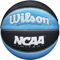 Мяч для баскетбола Wilson NCAA Limited II BSKT GRCB SZ7 Black/Cyan WTB0690XB07