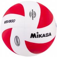 Мяч для волейбола Mikasa VSV800 WR White/Red