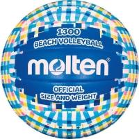 Мяч для пляжного волейбола Molten V5B1300-CB Cyan/Yellow