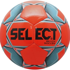 Мяч для пляжного футбола SELECT Beach Soccer Orange/Cyan 815812-662