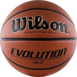Мяч для баскетбола Wilson Evolution Brown WTB0586XBEMEA