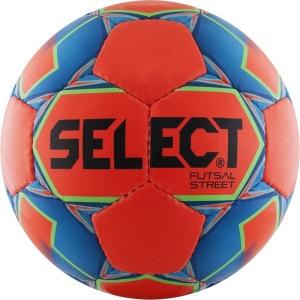 Мяч для минифутбола SELECT Futsal Street Orange/Blue 850218-552
