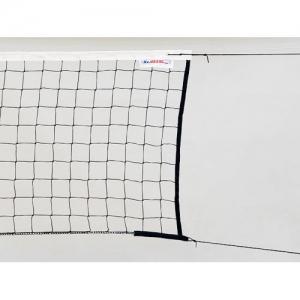 Сетка для волейбола KV.REZAC Training 9.5m 2mm Black 15935097400