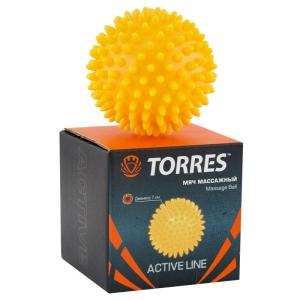 Мяч гимнастический 7cm Массажный Yellow AL100607 TORRES