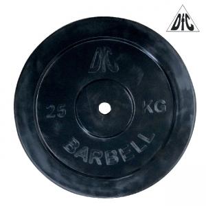 Диск обрезиненный 26mm 25kg Black WP021-26-25 DFC