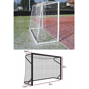 Сетка для ворот гандбол/минифутбол 2mm White 12105103 KV.REZAC