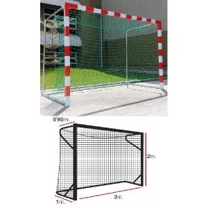 Сетка для ворот гандбол/минифутбол 4mm Green 11444010002 EL LEON DE ORO