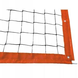 Сетка для пляжного волейбола Professional 8.5m 3mm Black 15095029011 KV.REZAC