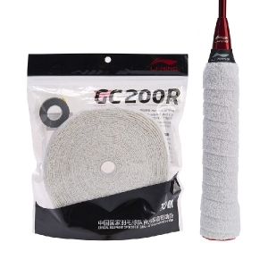 Обмотка для ручки Li-Ning Towel Grip GC200R 10m White AXJM058-5