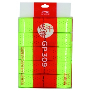 Овергрип Li-Ning Overgrip GP309 x5 Light Green AXJQ002-5