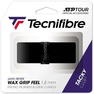 Обмотка для ручки Tecnifibre Grip Wax Feef x1 Black 51ATPWAFBK