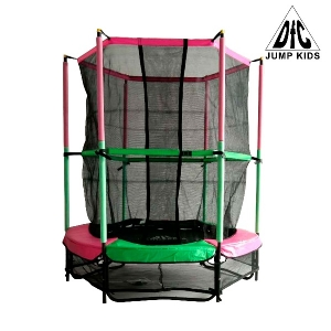 Батут DFC JUMP KIDS 55 Pink/Green 55INCH-JD-GP