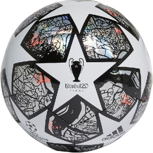 Мяч для футбола Adidas Finale 20 IST Training White/Silver FH7346