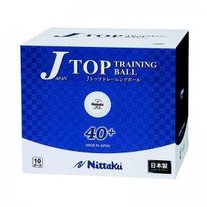 Мячи Nittaku J-Top 40+ Plastic x120 White