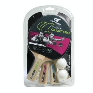 Набор для настольного тенниса Cornilleau Pack Quattro (4r, 4b) 432053