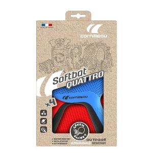Набор для настольного тенниса Cornilleau Softbat Pack Quatro (4r, 4b) 754755