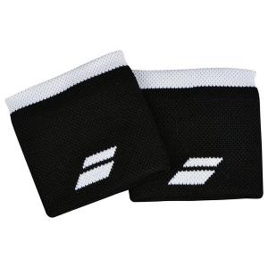 Напульсник Babolat Wristband Logo x2 Black/White 5UA1261