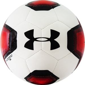 Мяч для футбола Under Armour Desafio 395 White/Red 1297242-601
