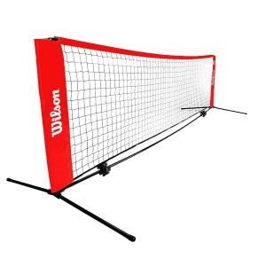 Сетка для тенниса Wilson Frame Starter Ez Tennis Net 6.1m WRZ259700